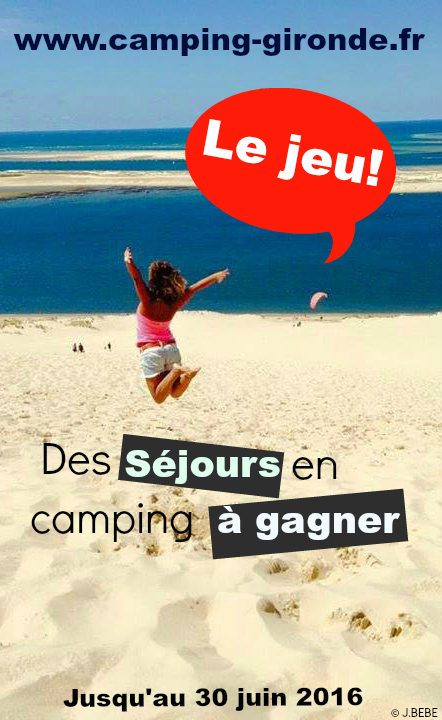 Concours Camping Gironde